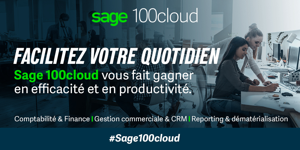 Sage 100cloud V3 – Devenez plus performant